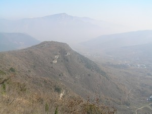 The Sacred Hills from Bodhidharma's Cave