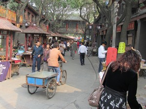 Older district with character, Xian