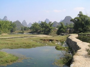 Karsk Scenery around Yangshuo
