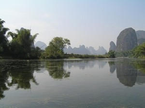The Yulong He River near Yangshuo