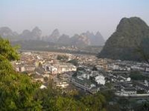 Yangshuo from Above