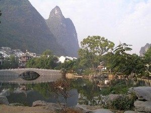 Tasteful development around the Paradise Hotel, Yangshuo